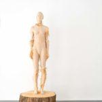 ARON DEMETZ SUD 2, 2016 legno di tiglio 210 x 72 x 72 cm