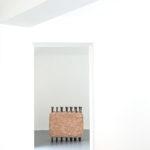 ARON DEMETZ. EMANZE, 2016 bronzo e creta refrettaria 99 x 103 x 45 cm