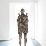 ARON DEMETZ. TOPOGRAFIE TEMPRATE, 2017 bronzo 183 x 35 x 56 cm