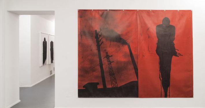 Paolo Leonardo Vertigine,2013 stampa su pvc cm 210x1000