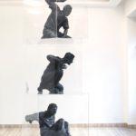 Simone Benedetto, Identity for Sale, resina, plexiglas, 300 x 100 x 100 cm, 2014