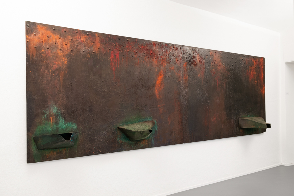 Ferdi Giardini, Dentro una lacrima una tremenda accelerazione, 1987