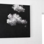 Elvio Chiricozzi Nuvole sole, 2017 matita su legno cm 120 x 120 Fulmine, 2016 grafite su legno cm 120 x 60