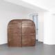 Salvatore Astore, Container, 1988. Ferro saldato e vernice, cm 200 x 200 x 40